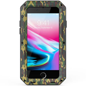 Heavy Duty Protective Phone Case - iPhone 8 - The Tank Camo - Military Style