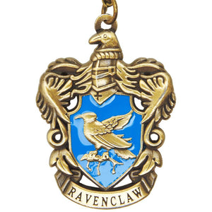 Harry Potter Jewellery Ravenclaw House Crest Pendant Necklace with Medallion - Bronze-Gold