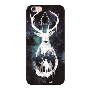 Harry Potter Stag Patronus protective phone case for iPhone 5, iPhone 5s, iPhone 5c, iPhone 6, iPhone 6 Plus, iPhone 6s, iPhone  6s Plus, iPhone 7, iPhone 7 Plus