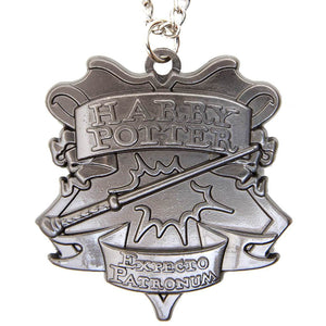 Harry Potter Talisman Jewellery Pendant Necklace with Medallion - Hematite