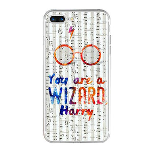 Harry Potter Wizard phone case for iPhone 5, iPhone 5s, iPhone 5c, iPhone 6, iPhone 6 Plus, iPhone 6s, iPhone  6s Plus, iPhone 7, iPhone 7 Plus
