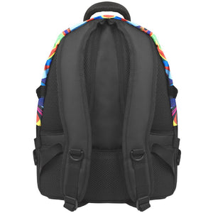 back view of B510-252 laptop backpack, notebook backpack, backpack, travel backpack, best backpacks, backpack kid, school backpack, kids backpacks australia, buy backpack, day backpacks, backpacks australia