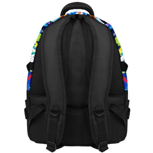 back view of B510-262 laptop backpack, notebook backpack, backpack, travel backpack, best backpacks, backpack kid, school backpack, kids backpacks australia, buy backpack, day backpacks, backpacks australia