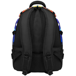 back view of X-Eyes laptop backpack, notebook backpack, backpack, travel backpack, best backpacks, backpack kid, school backpack, kids backpacks australia, buy backpack, day backpacks, backpacks australia