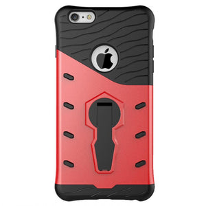 back view of latest,new,cool, strong and rugged red Raptor iPhone case,iPhone cover,iPhone protective cover,made of TPU and Polycarbonate by iPhone Cases Australia for Apple iPhone 6,6s,6 Plus,7,7 Plus
