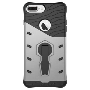 Heavy Duty Phone Case - Raptor Silver | iPhone 6, 6s, 6P, 6sP, 7, 7P