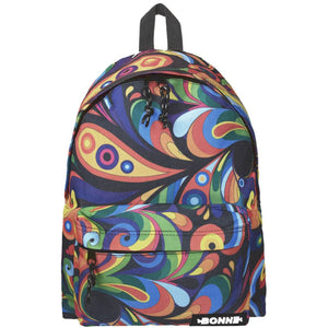 front view of Bonne Exuberance kids back packs,travel backpacks,backpacks australia,backpacks for kids,kids backpacks,small backpack,day pack,back-to-school backpack,school backpack, women's backpack
