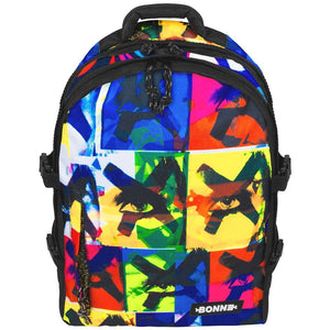 front view of X-Eyes laptop backpack, notebook backpack, backpack, travel backpack, best backpacks, backpack kid, school backpack, kids backpacks australia, buy backpack, day backpacks, backpacks australia