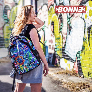 girl with B510-262 laptop backpack, notebook backpack, backpack, travel backpack, best backpacks, backpack kid, school backpack, kids backpacks australia, buy backpack, day backpacks, backpacks australia