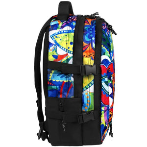 side view of B510-262 laptop backpack, notebook backpack, backpack, travel backpack, best backpacks, backpack kid, school backpack, kids backpacks australia, buy backpack, day backpacks, backpacks australia