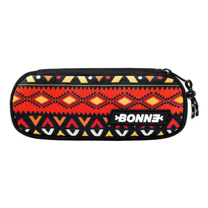 top view of cool unique unisex Machupicchu pouch for use as a pencil case, makeup case, cosmetic case, cosmetic organiser or toiletry case for girls, boys, men, and ladies for school, work university and travel