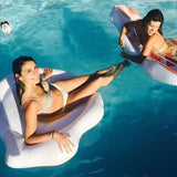 Swimming pool floats