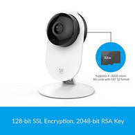 1080p Home Camera, Indoor IP Security Surveillance System with Night Vision for Home/Office/Baby/Nanny/Pet Monitor with iOS, Android App - Cloud Service Available