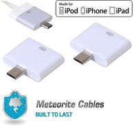 2x 30Pin Female Dock to Micro USB 5Pin Male Converter Adapter for iPod iPhone 4S