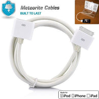 30 Pin Male To Female Dock Adapter Extender Extension Cable Cord For iPad iPhone 4S