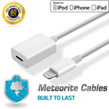 8 Pin Extender Cable 3.3FT Lightning Connector Adapter Cord for iPhone 5/6/7/8/X