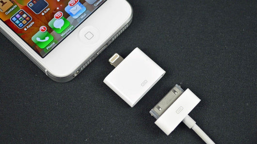 8 Pin Lightning  to 30 Pin Adapter Converter Charger Data Sync For iPhone 4 to iPhone 5 6 W