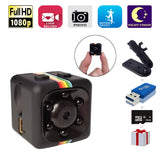HD Camera, Papakoyal Hidden Camera Mini Camera HD 1080P/720P Spy Cam Wireless Small Portable Night Vision Motion Detection for Home, Car, Drone, Office with 16GB Card & Card Reader