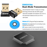 Bluetooth USB Adapter CSR 4.0 USB Dongle Bluetooth Receiver Transfer Wireless Adapter for Laptop PC Support Windows 10/8/7/Vista/XP,Mouse and Keyboard,Headset