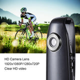Mini Body Camera 1080P Full HD Hidden HD Cameras Portable Pocket Clip Wearable Camera Video Recorder Small Sport DV DVR Dash Camera for Car Bicycle Home Office Security
