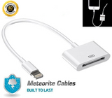 Lightning 8pin Male to 30Pin Female Adapter Cable For Syncing & Charging iPhone/iPad/iPod White