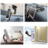 Tablet Phone Stand for IPAD Air Mini 1 2 3 4-11Inch Strong Suction Tablet Car Holder Stand for ipad iPhone X 8 7 Tablet PC