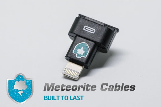 Black 8pin Male to Female Dock Extender Adapter Connector For iPod Touch 5G 7G By Meteorite Cables