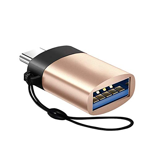 USB C Female to USB Male Cable Adapter Type C to USB Ports OTG Data Connector Gold