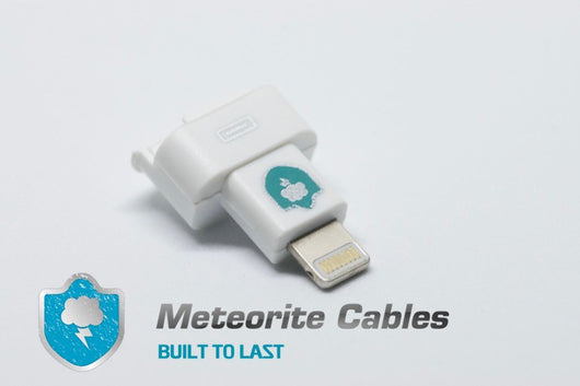 8pin Male to Female Dock Extender Adapter Connector For iPod Touch 5G Nano 7G By Meteorite Cables