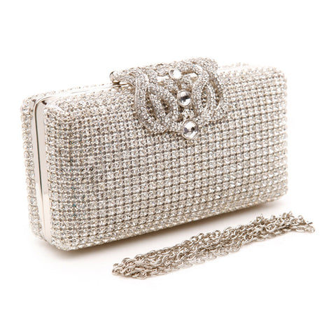Victorian Crystal Clutch