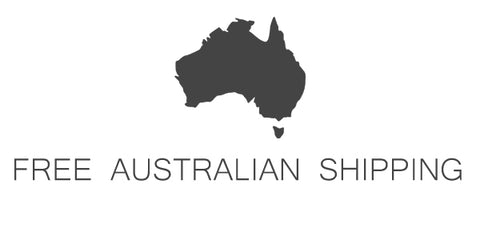 Free Shipping on all Australian Orders