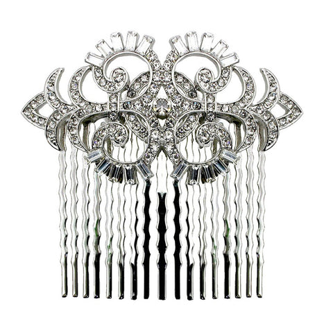 Nicole Gatsby Inspired Crystal Hair Comb