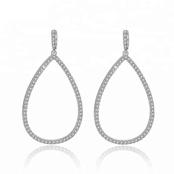 Bettina Crystal Tear Drop Earrings