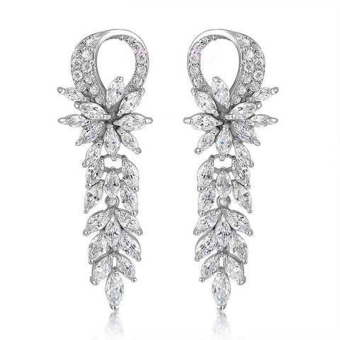 Hayden Crystal Elegant Earrings - Bella Krystal
