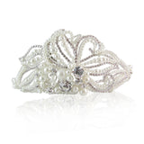 Mary Crystal & Pearl Bridal Hair Band - Bella Krystal
