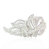 Mary Swarovski & Pearl Bridal Hair Band - Bella Krystal