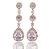 Regina Crystal Drop Earrings