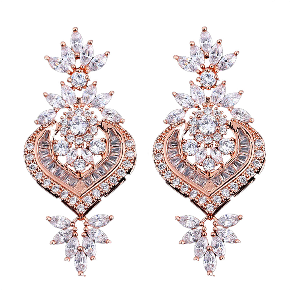Rani Luxe Crystal Drop Earrings