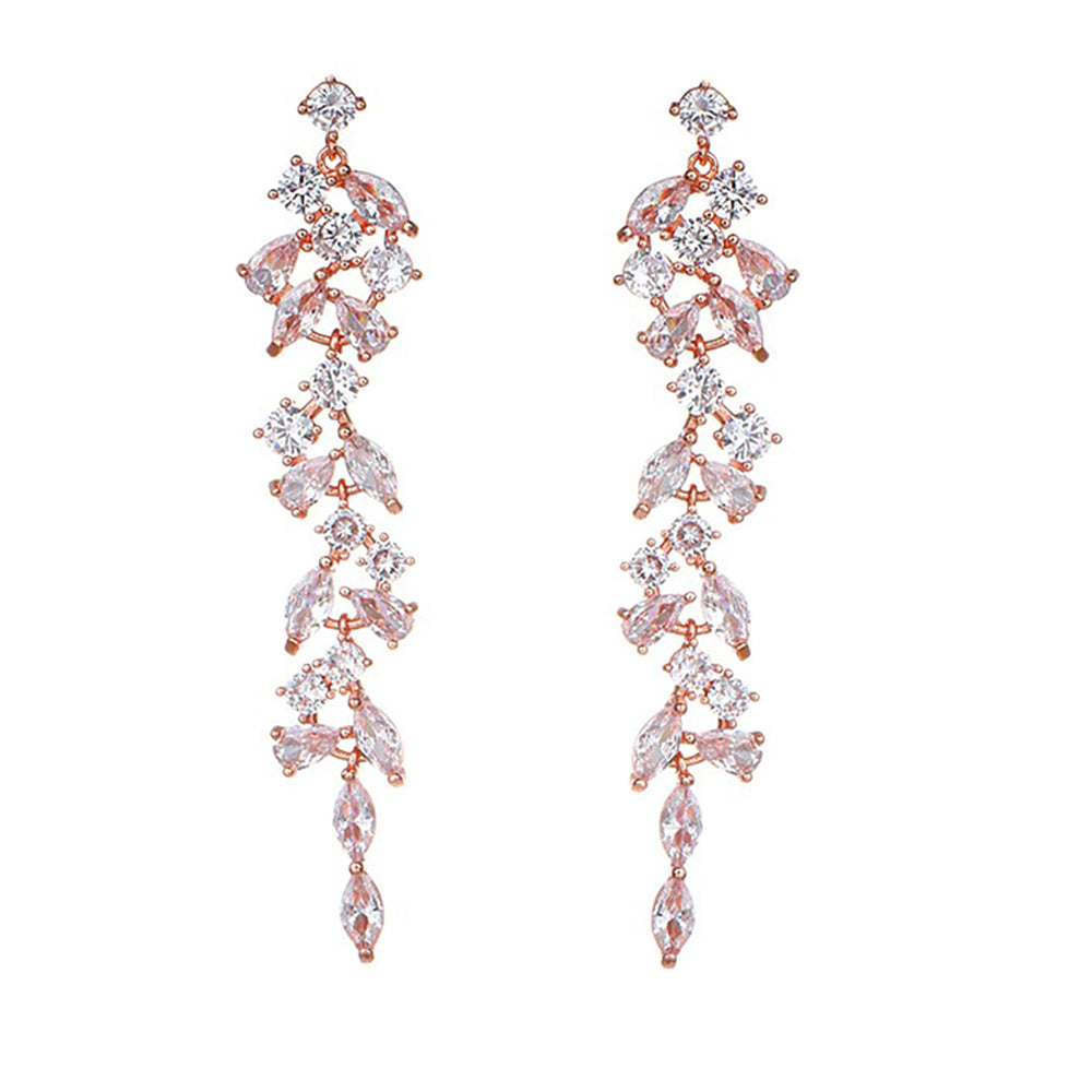 Cosima Crystal Drop Earrings