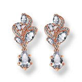 Priya Crystal Drop Earrings