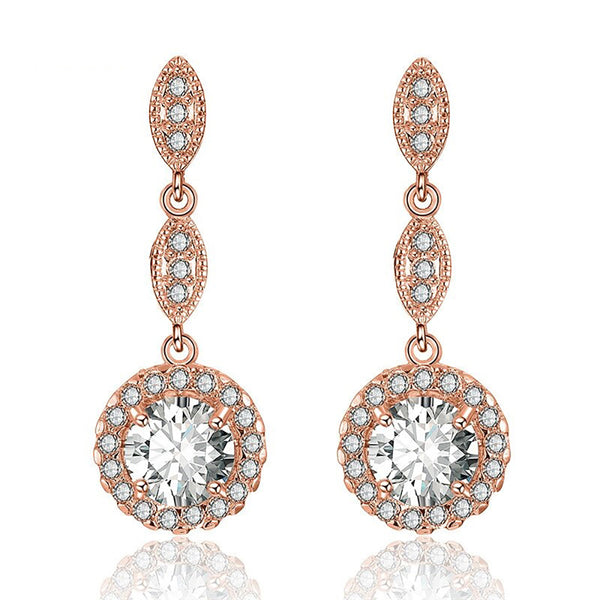 Dalia Crystal Drop Earrings