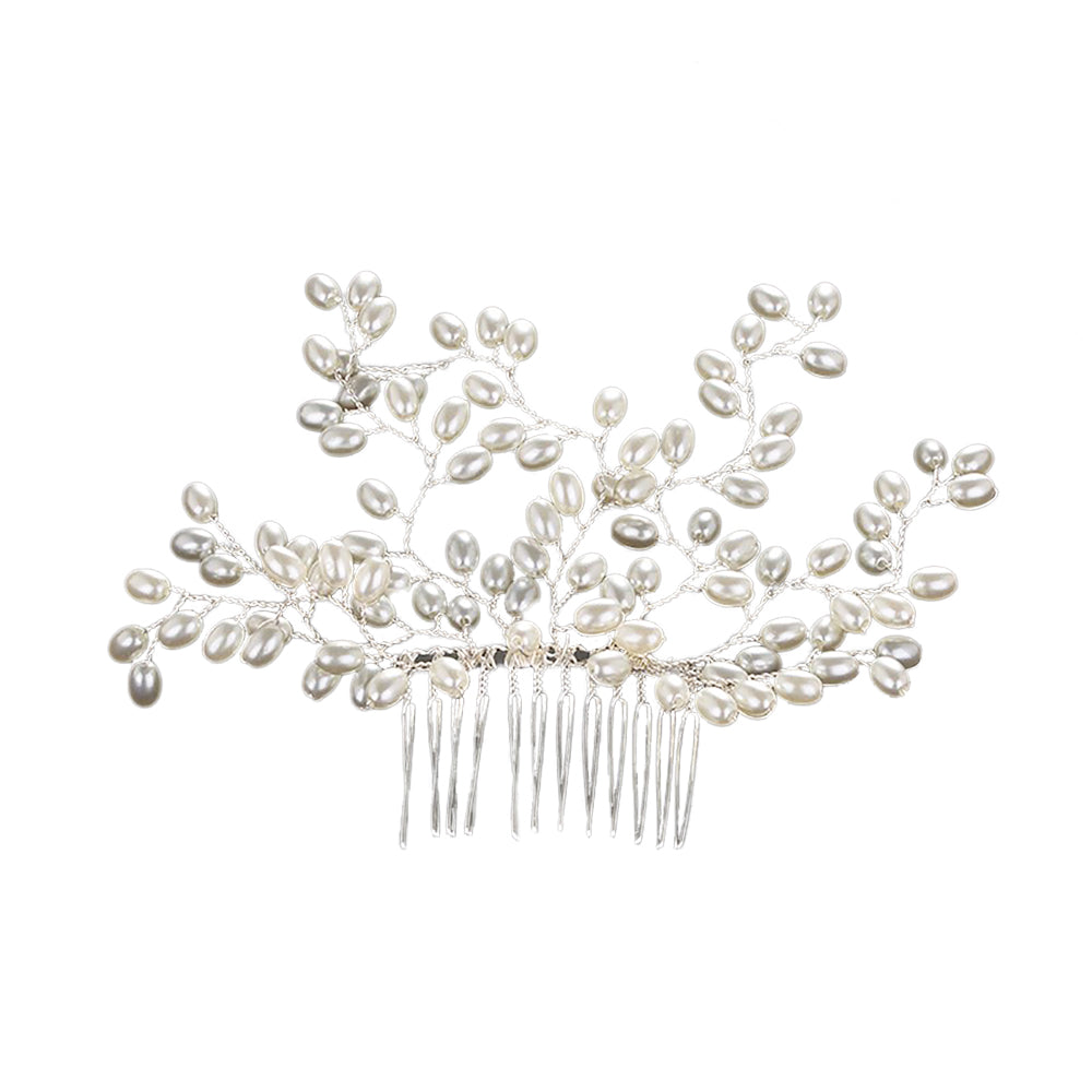 Bria Freshwater Pearl Hair Comb