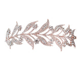 Liana Rose Gold Leaf Hair Accessory