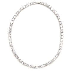 Alyssa Crystal Tennis Necklace