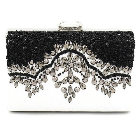 Silhouette Evening Clutch - Bella Krystal
