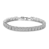 Marianne Crystal Tennis Bracelet in 3mm, 4mm & 5mm