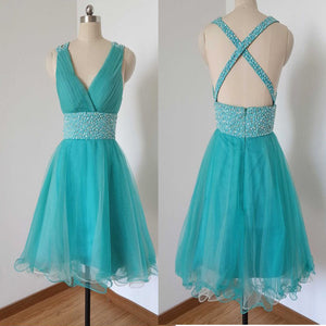 Popular simple Cross unique elegant casual for teens homecoming prom dress,BD00179 - SofitBridal