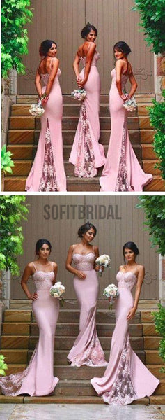 2016 New Design Online Sexy Mermaid Sweet Heart Lace Long Bridesmaid Dresses, WG08 - SofitBridal