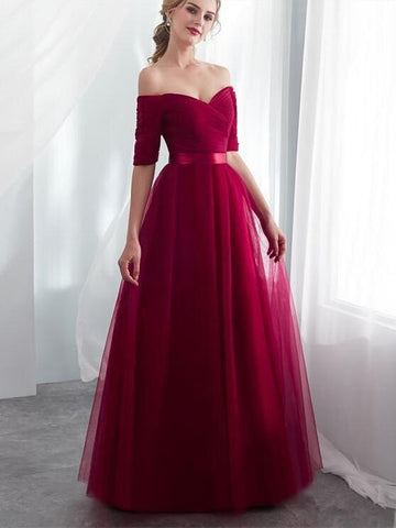 products/2019-hot-sale-purple-bateau-bridesmaid-dresses-tulle-a-line-royal-blue-half-sleeves-wedding-party-prom-girl-dresses-party-dress.jpg
