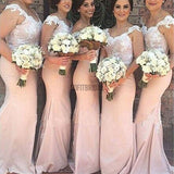 Charming Off Shoulder Lace Mermaid On Sale Sexy Long Wedding Guest Dresses, WG24 - SofitBridal